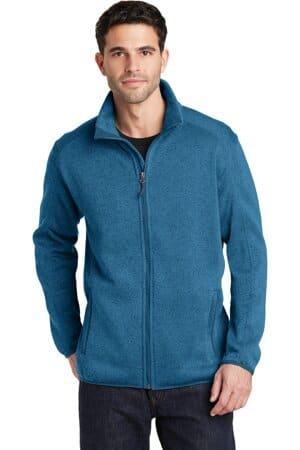 F232 port authority sweater fleece jacket f232
