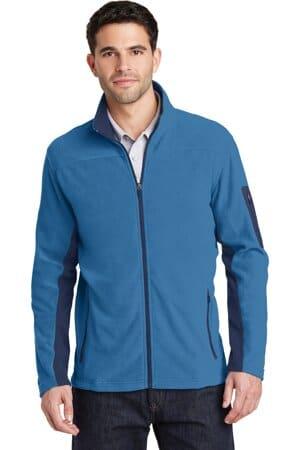 port authority summit fleece full-zip jacket f233