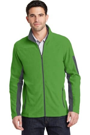 port authority summit fleece full-zip jacket f233