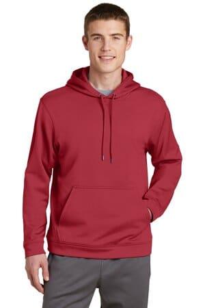 F244 sport-tek sport-wick fleece hooded pullover