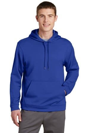 F244 sport-tek sport-wick fleece hooded pullover f244