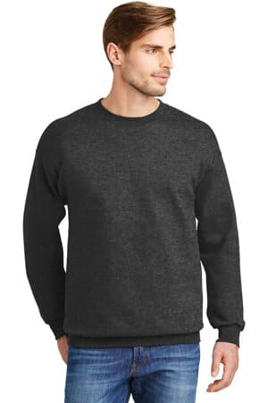 F260 hanes ultimate cotton-crewneck sweatshirt