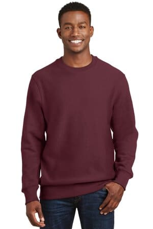 sport-tek super heavyweight crewneck sweatshirt f280