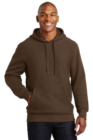 sport-tek super heavyweight pullover hooded sweatshirt f281