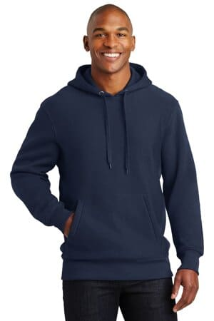 sport-tek super heavyweight pullover hooded sweatshirt f281