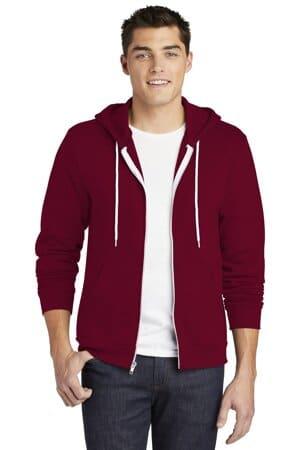 F497W american apparel flex fleece zip hoodie