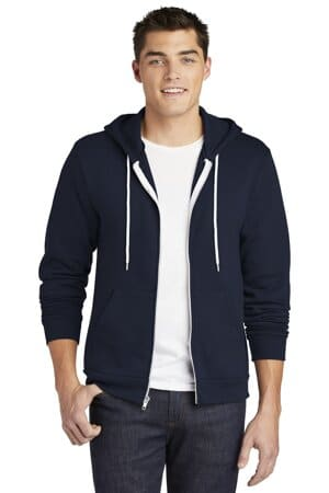 american apparel usa collection flex fleece zip hoodie f497