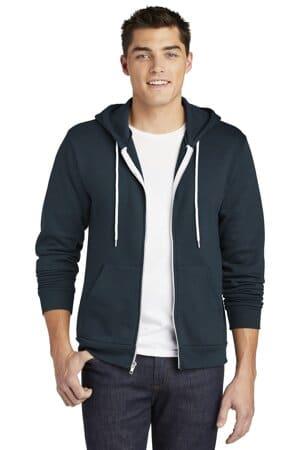 american apparel usa collection flex fleece zip hoodie f497