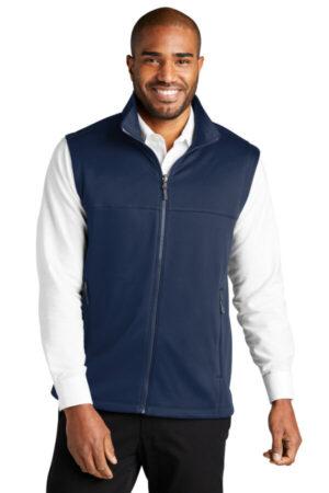 F906 port authority collective smooth fleece vest