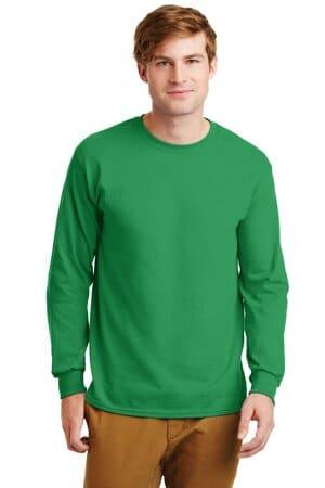 G2400 gildan-ultra cotton 100% cotton long sleeve t-shirt