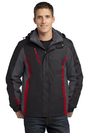 J321 port authority colorblock 3-in-1 jacket j321