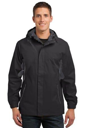 J322 port authority cascade waterproof jacket j322