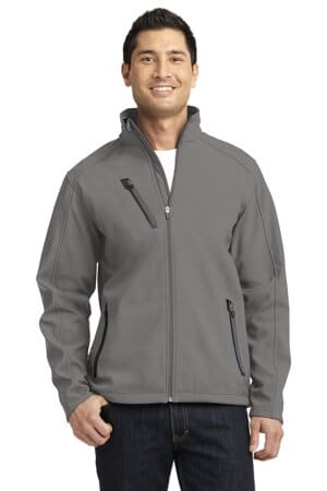 J324 port authority welded soft shell jacket
