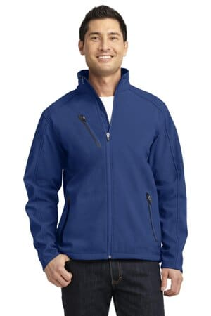 J324 port authority welded soft shell jacket j324