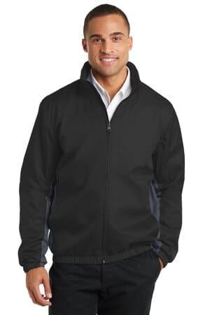 J330 port authority core colorblock wind jacket