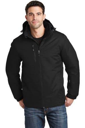 port authority vortex waterproof 3-in-1 jacket j332