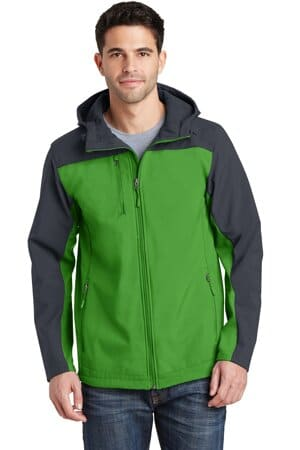 port authority hooded core soft shell jacket j335