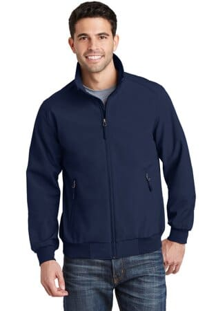 J337 port authority soft shell bomber jacket j337