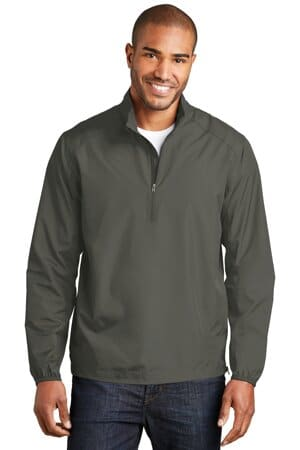 J343 port authority zephyr 1/2-zip pullover j343