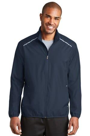 port authority zephyr reflective hit full-zip jacket j345