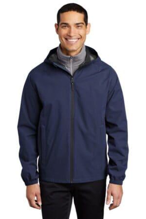 J407 port authority essential rain jacket j407