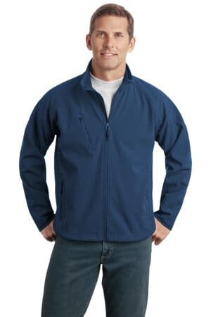 port authority tall textured soft shell jacket tlj705