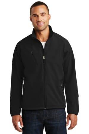J705 port authority textured soft shell jacket j705