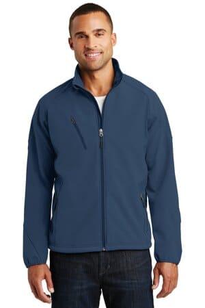 J705 port authority textured soft shell jacket