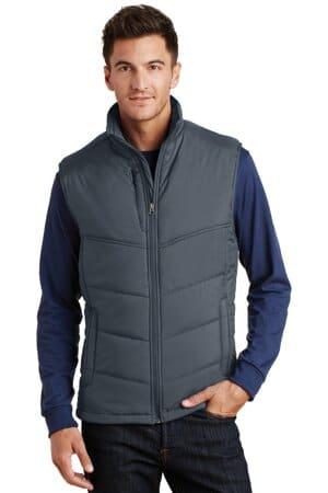 J709 port authority puffy vest j709