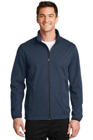 J717 port authority active soft shell jacket