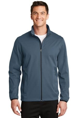 J717 port authority active soft shell jacket j717