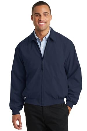 J730 port authority casual microfiber jacket j730
