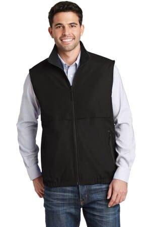 J7490 port authority reversible charger vest j7490