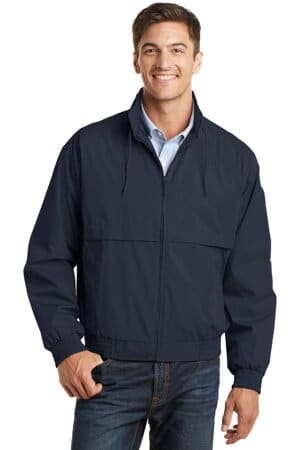 J753 port authority classic poplin jacket j753
