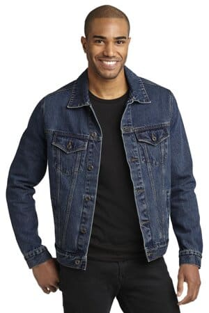J7620 port authority denim jacket j7620