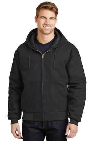 J763H cornerstone-duck cloth hooded work jacket