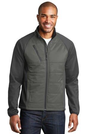 J787 port authority hybrid soft shell jacket