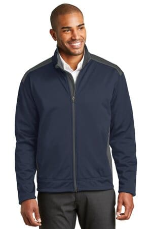 J794 port authority two-tone soft shell jacket j794
