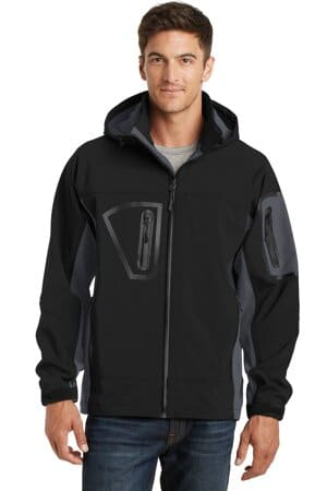 J798 port authority waterproof soft shell jacket j798