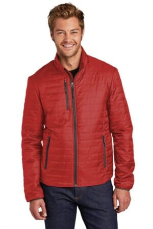 J850 port authority packable puffy jacket