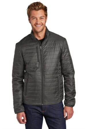 J850 port authority packable puffy jacket j850