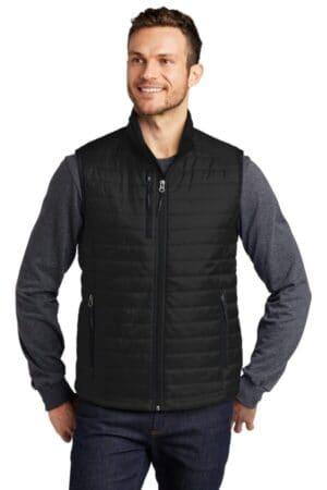 J851 port authority packable puffy vest j851