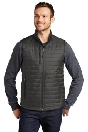 J851 port authority packable puffy vest j851