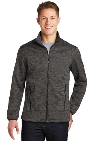 JST30 sport-tek posicharge electric heather soft shell jacket