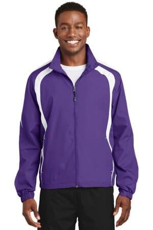 JST60 sport-tek colorblock raglan jacket