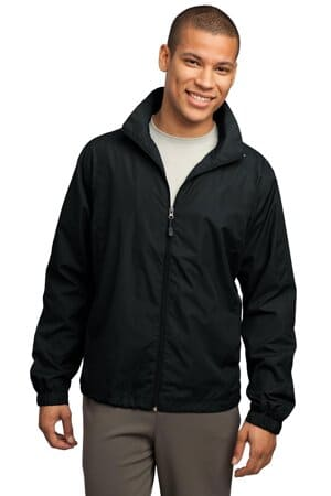 JST70 sport-tek full-zip wind jacket jst70