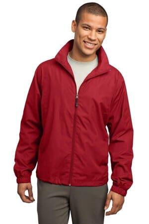 JST70 sport-tek full-zip wind jacket jst70
