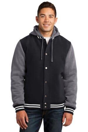 JST82 sport-tek insulated letterman jacket jst82