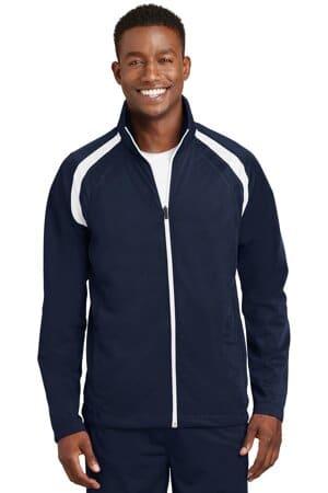 JST90 sport-tek tricot track jacket jst90