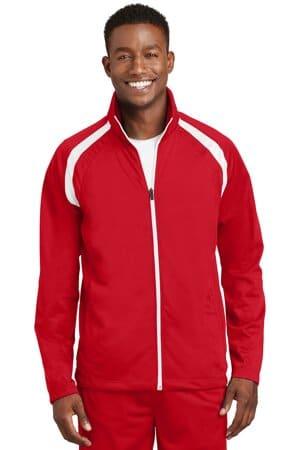 JST90 sport-tek tricot track jacket